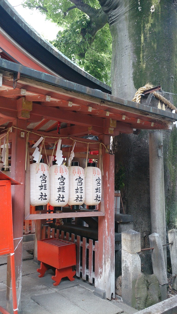 恋愛の神 武信稲荷神社の宮姫社