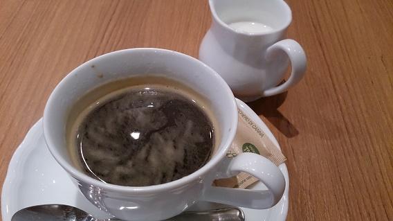 アルカミーノ食後のコーヒー
