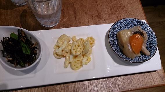 町家カフェ『檸檬』前菜三種