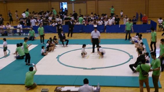 わんぱく相撲 京都大会