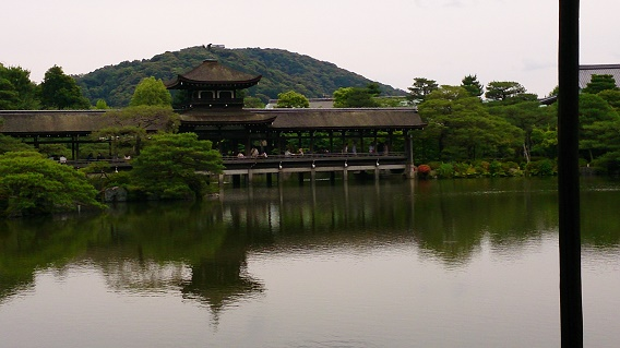 平安神宮の泰平閣