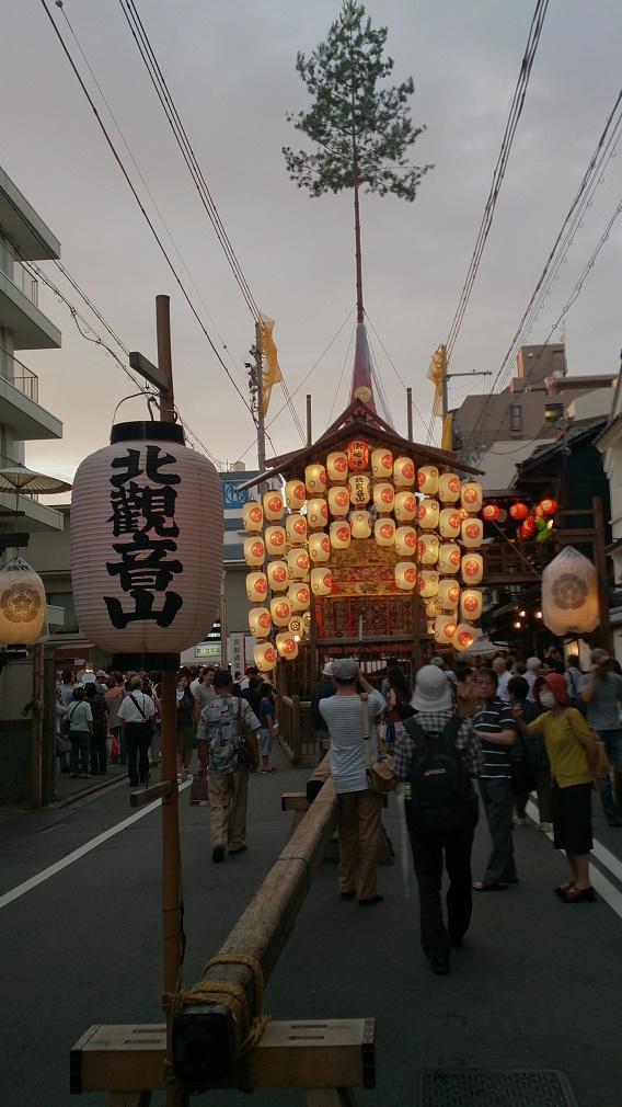祇園祭り北観音山