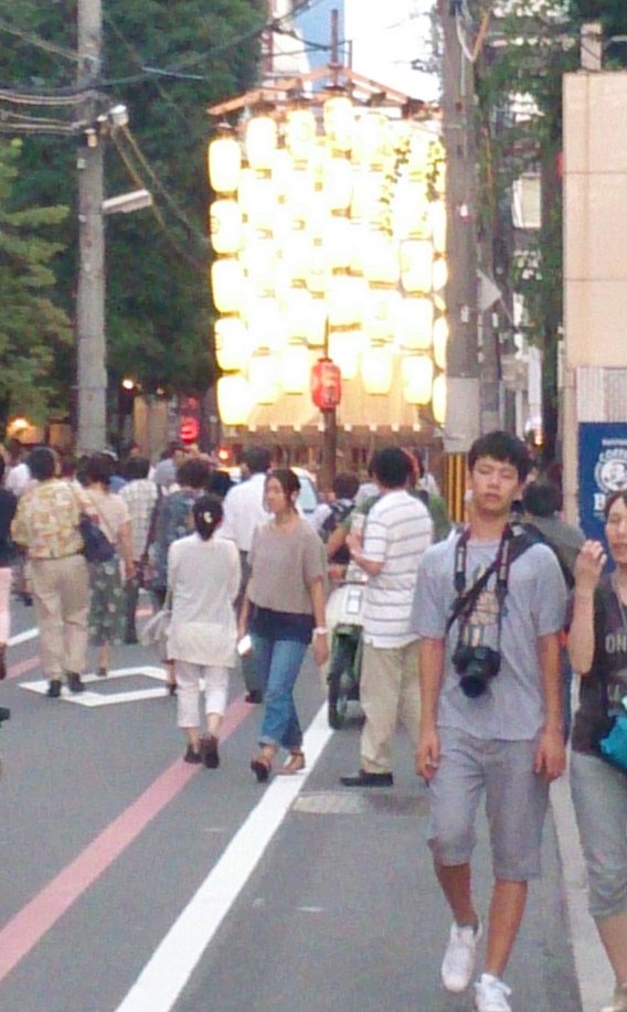 祇園祭り橋弁慶山