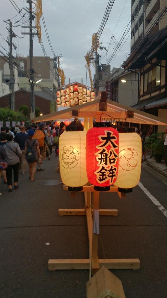 祇園祭り大船鉾