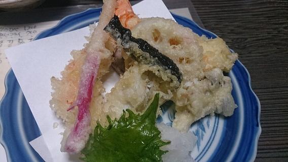 みくら天ぷら盛り合わせ