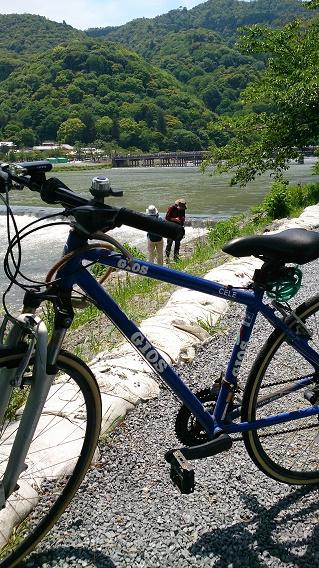 嵐山サイクリング