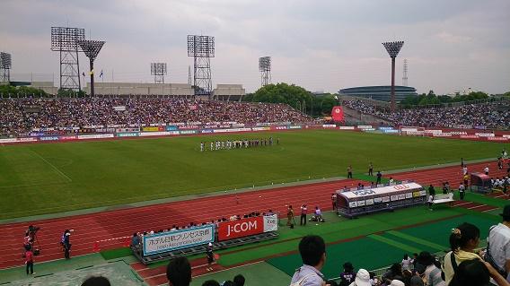 サンガvs横浜FC試合終了