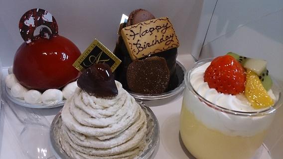 アトリエ・ラ・トランキリテのケーキ