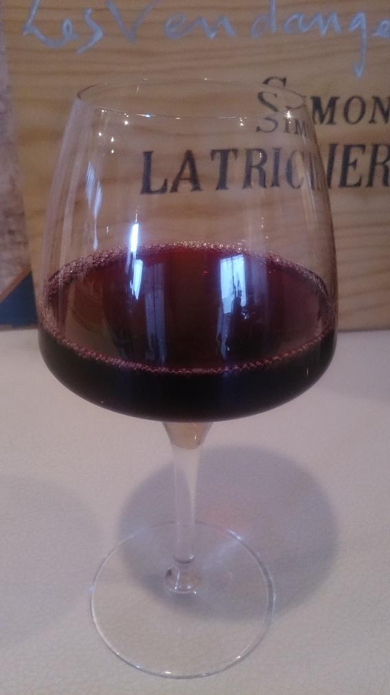 太陽カレー赤ワイン